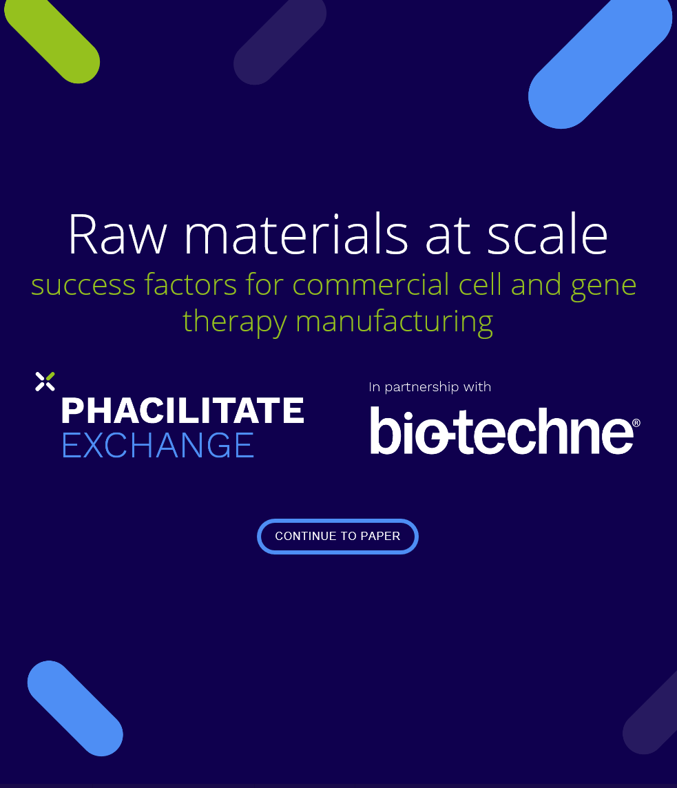 Raw Materials at Scale: Success Factors for Commercial Cell and Gene Therapy Manufacturing
